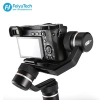 FeiyuTech G6 Plus 3-Axis Handheld Gimbal Stabilizer for Mirrorless Cameras, Pocket Cameras, GoPro & Smartphones,Payload 800g