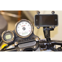RAM Handlebar U-Bolt Mount with Universal RAM X-Grip Mobile Phone Cradle