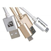 Freewell 45CM Micro USB Cable Gold or Silver