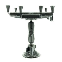 "RAM Universal iPad/Android X-Grip Suction Mount Assembly for 10"" Tablets With Medium (95 mm) Arm"