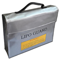 LIPO Guard Safety Fire-Resistant Charging Bag - Large (235 x 65 x 180 mm)