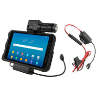 RAM Key-Locking Power & Data Cradle for Samsung Tab Active2