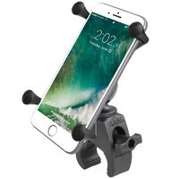 RAM X-Grip Large Phone Mount with Low Profile RAM Tough-Claw Base
